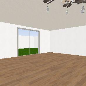 My Brand New Bedroom Project. Interior Design Render
