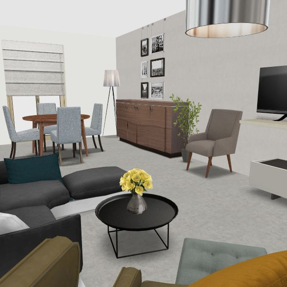 Messimy 2 Interior Design Render