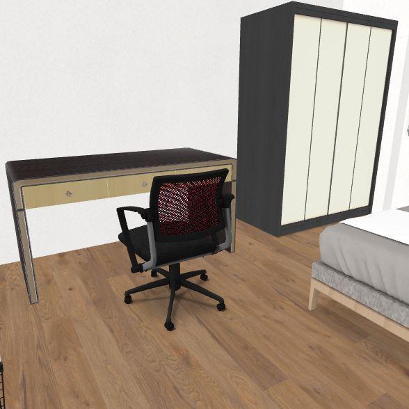 2ª planta hab sento REAL 2 Interior Design Render