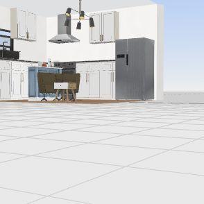 Zaccherio Dream kitchen setup Interior Design Render