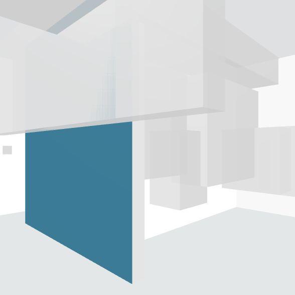 middle tv Interior Design Render