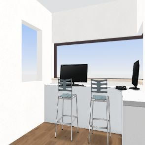 controlezaal ovenman design 3 (tegen controlezaal hoogoven) Interior Design Render
