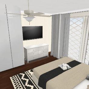 Quarto Fe Neide Interior Design Render