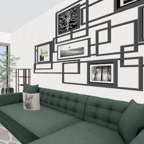 230 Lille Living 2 Interior Design Render