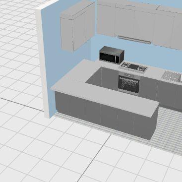 kitchen #3 Interior Design Render