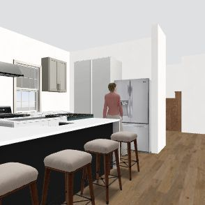 Farmhouse7 Interior Design Render