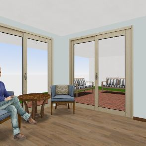 Dos Casitas Interior Design Render
