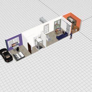 Andrews Bus Interior Design Render