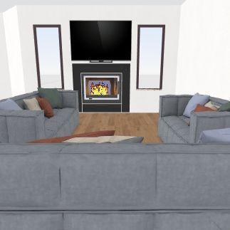 Living Area 4 Interior Design Render
