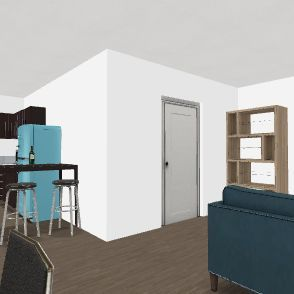 COLLEGE Interior Design Render
