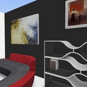 Unit 2 culminating task: Living Room Interior Design Render
