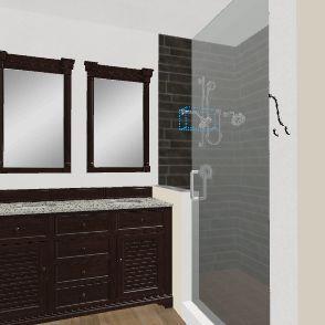 bathrooms Interior Design Render