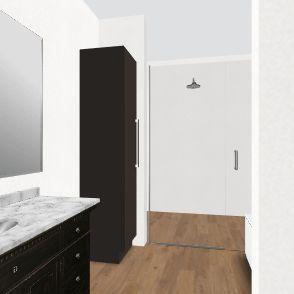Ed Bathroom Bench Interior Design Render