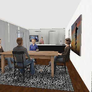 casa simo robi Interior Design Render