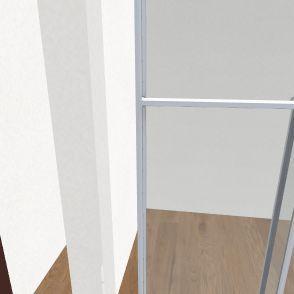 6x20' shipping 2 floors Interior Design Render