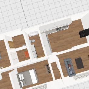 oak manor Interior Design Render