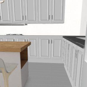 עיצוב להוריד את הכיור לצד השני Interior Design Render