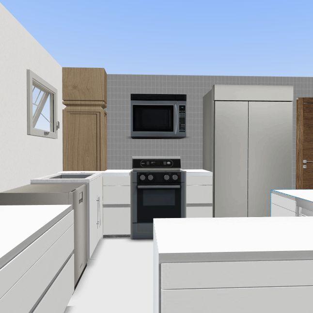 1601 kitchen LL Interior Design Render