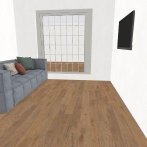CASA 1 QUARTO Interior Design Render
