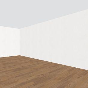 boston brownstone, level 2 Interior Design Render