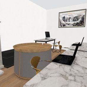 Projeto Sala Interior Design Render