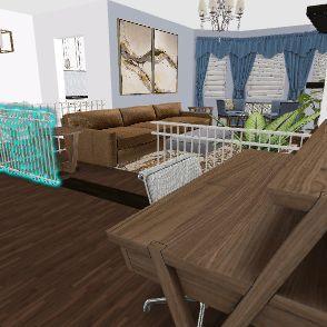 no rail Interior Design Render