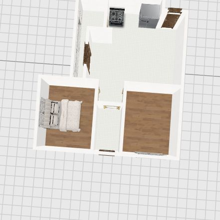 Apartamento Completo Interior Design Render