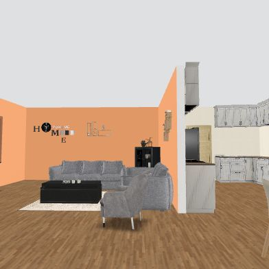 home3 Interior Design Render