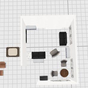 Living Room 1 Interior Design Render