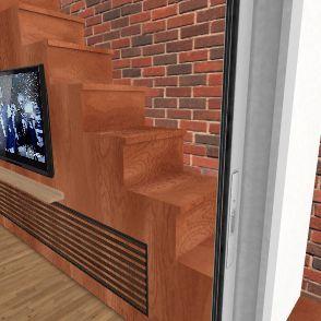 Conflans Escalier/armoire Interior Design Render