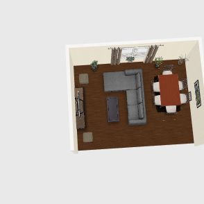 зал 1 этаж Interior Design Render
