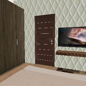 Tidke master bedroom Interior Design Render