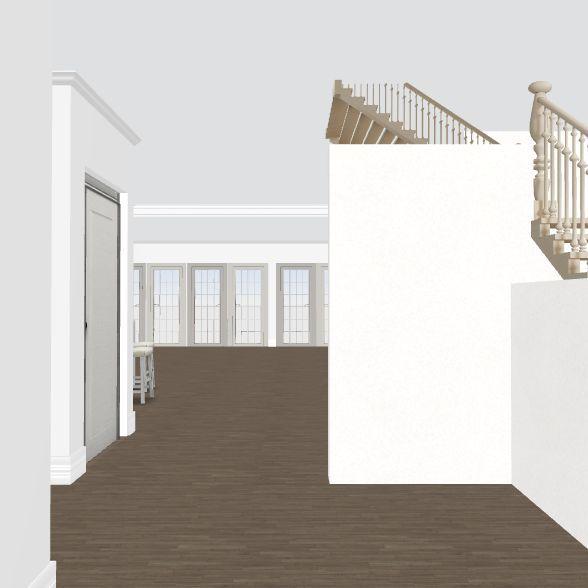 2 downstairs bedroom addtion 2 Interior Design Render