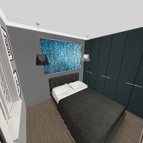 mini apartamento de 41.65m Interior Design Render