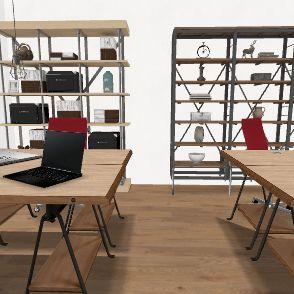 new escritorio Interior Design Render