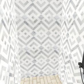 salle de bain Interior Design Render