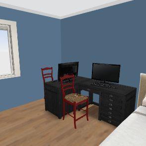 Flat project 001 Interior Design Render