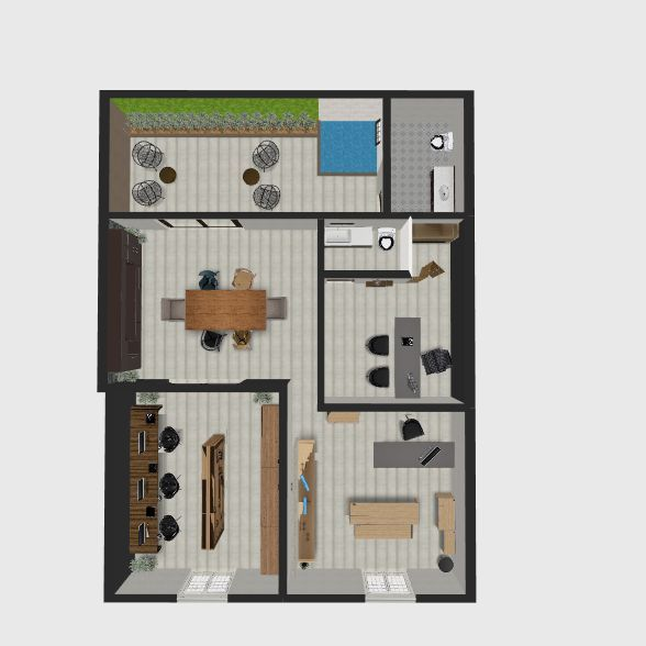 lulu Interior Design Render