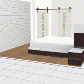 Mitchel's bedroom Interior Design Render
