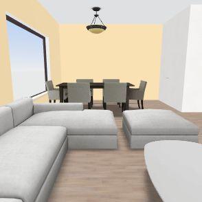 dom po prerabke Interior Design Render