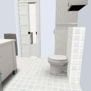 łazienka docelowa 1 alternatywa Interior Design Render