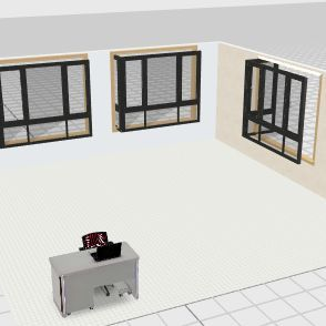 Org and Admin Interior Design Render