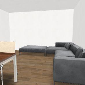 cucina spostata 3p Interior Design Render