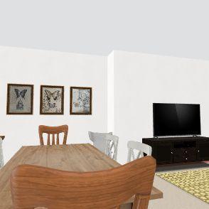 Nosso Apto remodelado 2 Interior Design Render