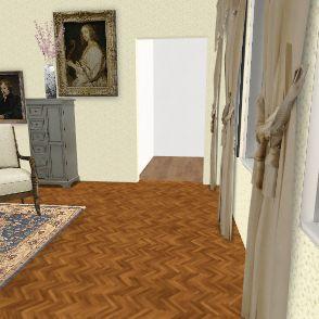 castel room Interior Design Render