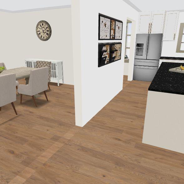 Old Dream Home Interior Design Render