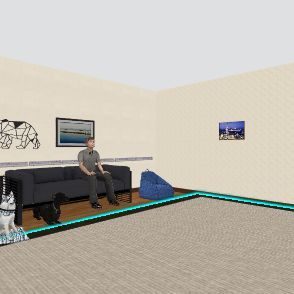 best living room Interior Design Render