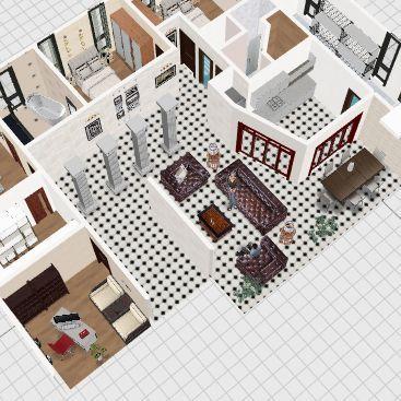 наш дом1 Interior Design Render