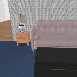 Aubrey's Dream Home Interior Design Render