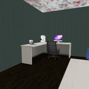 gaming roomc Interior Design Render